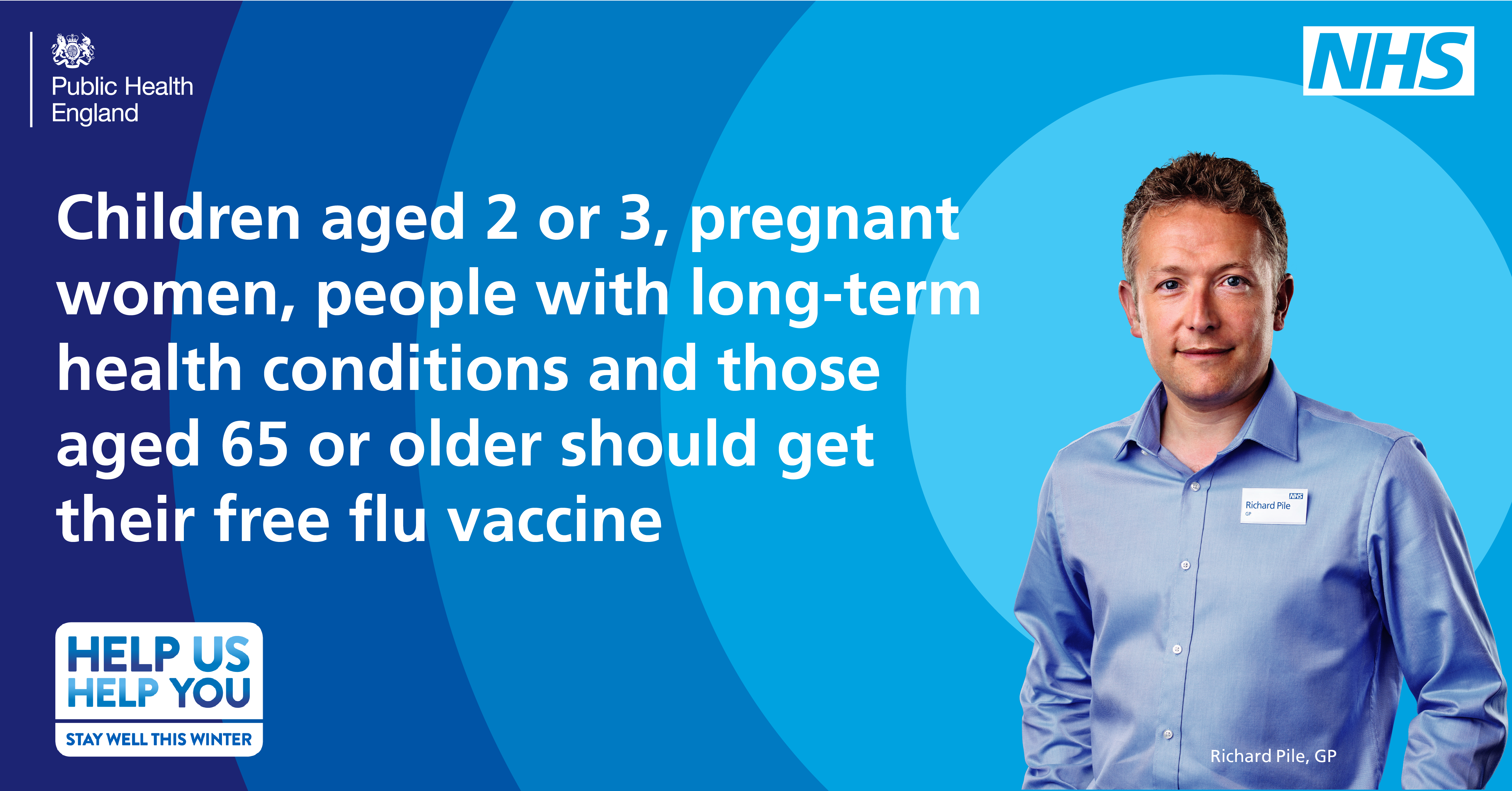 Children aged 2 or 3, pregnant women, people with long-term health conditions and those aged 65 or older should get their free flu vaccine